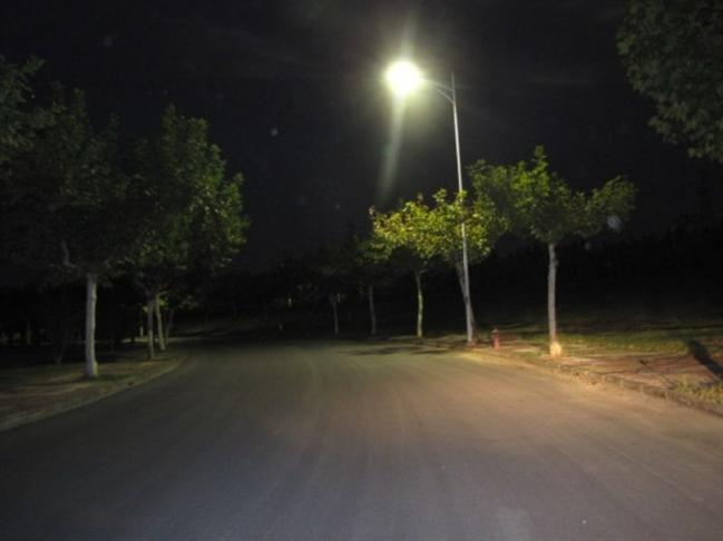 LED Street Lights Project