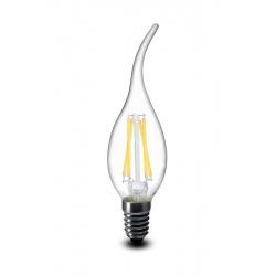 4W LED Filament Candle Bulb