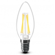 4W LED Filament Candle Bulb