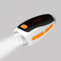 Solar LED Flashlight Weather System Indicator