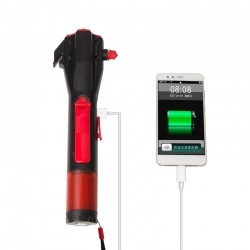 Dynamo Multi-Function Emergency LED Flashlight
