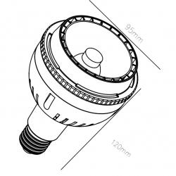 25W PAR30 LED Spotlight