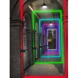 360 degree 5W RGBW LED Window Light